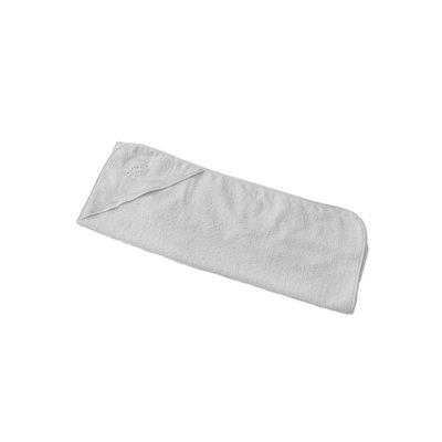 Baby Elegance Hooded Towel - White