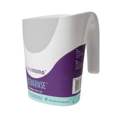 ClevaRinse Shampoo Rinse Cup - Grey 500ml