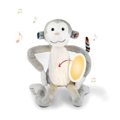 Zazu Soft Toy Nightlight Max the Monkey - Default
