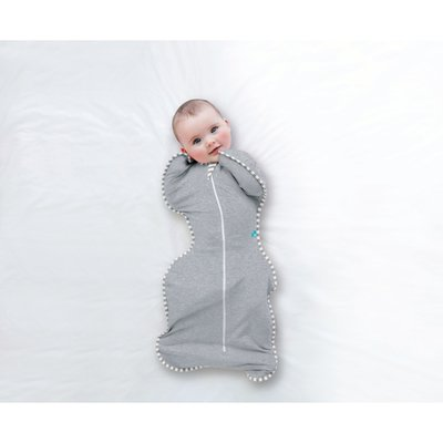Love to Dream Newborn Stage 1 Swaddle Up 1 Tog - Grey - Default