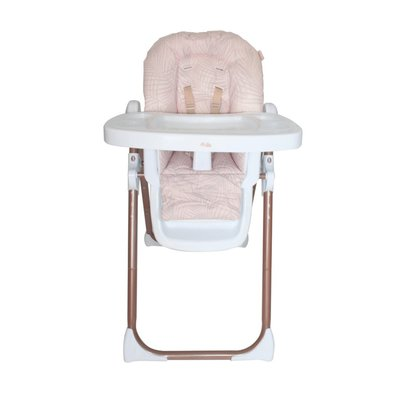My Babiie Highchair - Rose Gold Blush Tropical