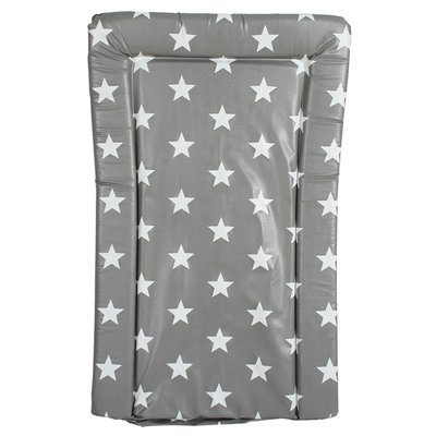 My Babiie Changing Mat - Grey Star - Default