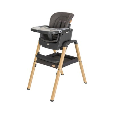 Tutti Bambini Nova Evolutionary Highchair - Grey/Oak