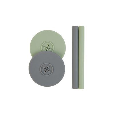 Cognikids Sip Accessory Pack - Sage/Slate Grey
