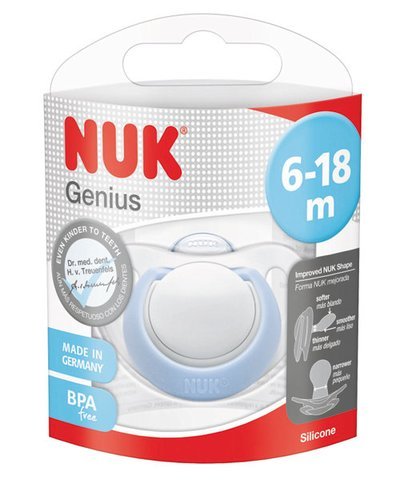 Nuk genius soother (6-18 months)