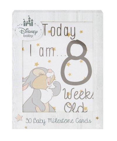 Disney magical beginnings baby milestone cards