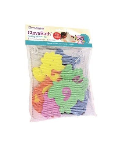 Clevamama - ClevaBathtime Toys with Tidy Bag