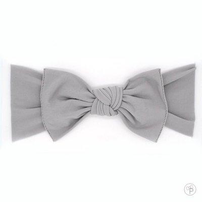 little bow pip bow grey medium