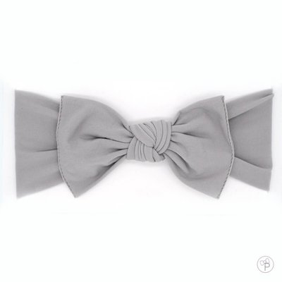 little bow pip bow grey medium