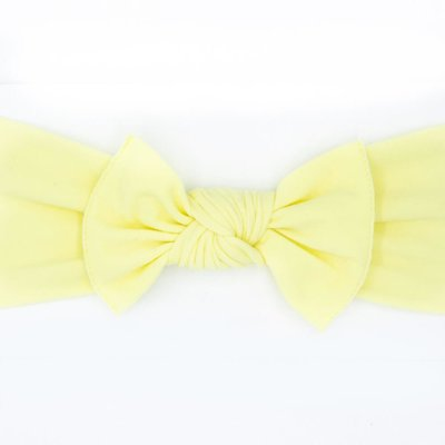 pippa bow lemon small