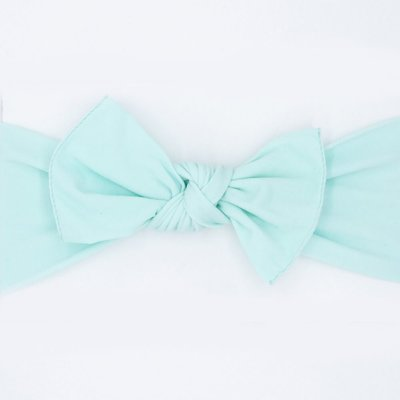 pippa bow mint medium