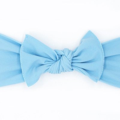 little bow pip powder blue small