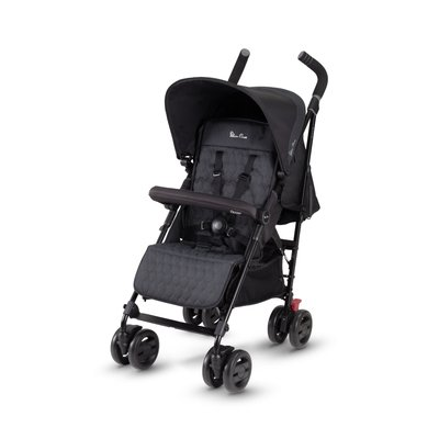 Silver Cross Pop Stroller - Black - Default