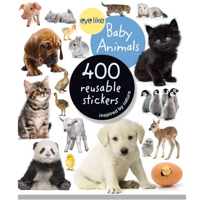 eyelike baby animals stickers
