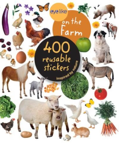 eyelike on the farm stickers