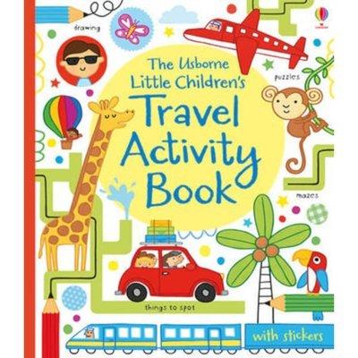 little childrens travel activity book