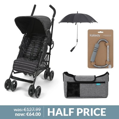 Babylo Neo Stroller & Accessories Bundle