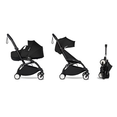BABYZEN YOYO2 Complete with Bassinet - Black Frame