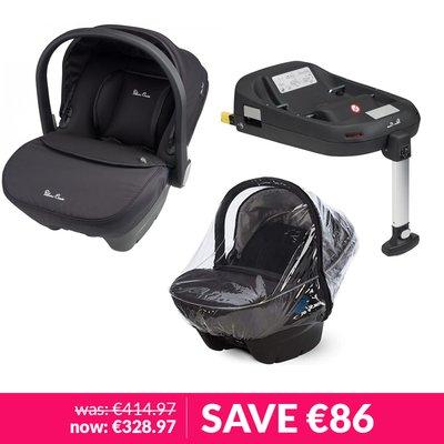 Silver Cross Simplicity Car Seat & Simplifix Base Bundle