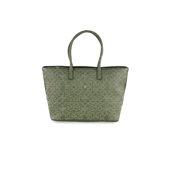 JR Monogram/Studs Bag 002