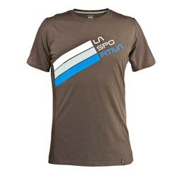 Stripe Logo T-Shirt M