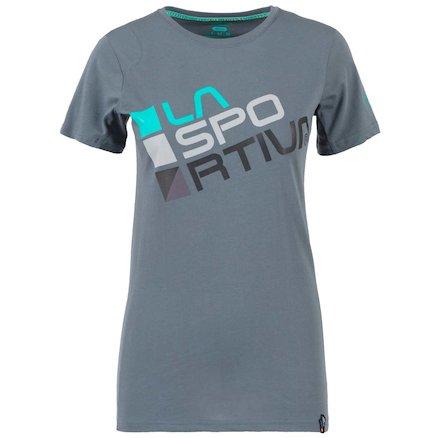 61e9e85431c161 La Sportiva Square T-Shirt W - Woman