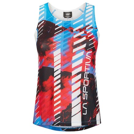 Womens Technical Base-layers & Shirts - WOMAN - Sky Tank W - Image