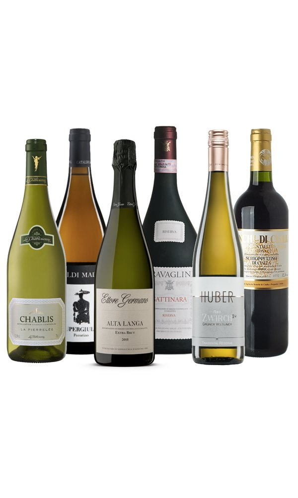 Winelovers Wine Selection (Case of 6 - Mixed Wines)