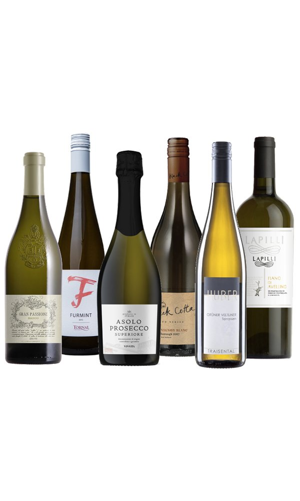 Aromatic White Wine Selection (Case of 6)