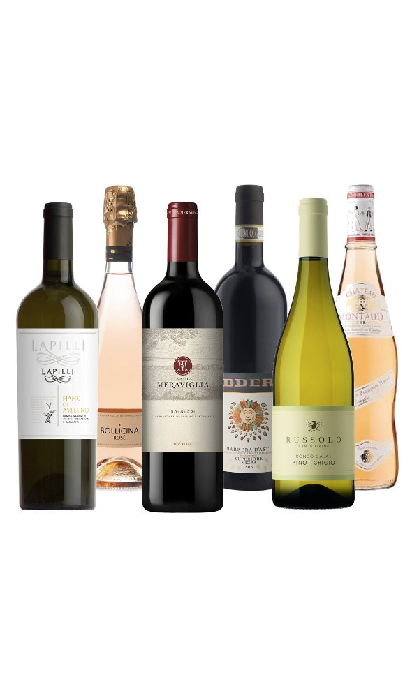 BBQ Wine Selection (Case of 6 - Mixed Wines)