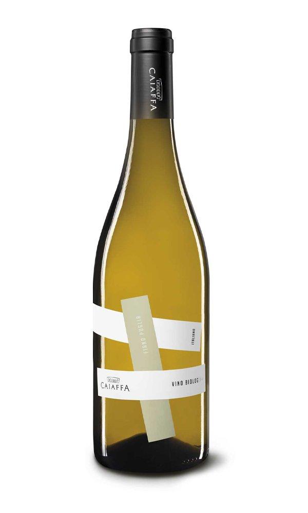 Fiano By Caiaffa (Case of 6 - Italian White Wine – Organic)