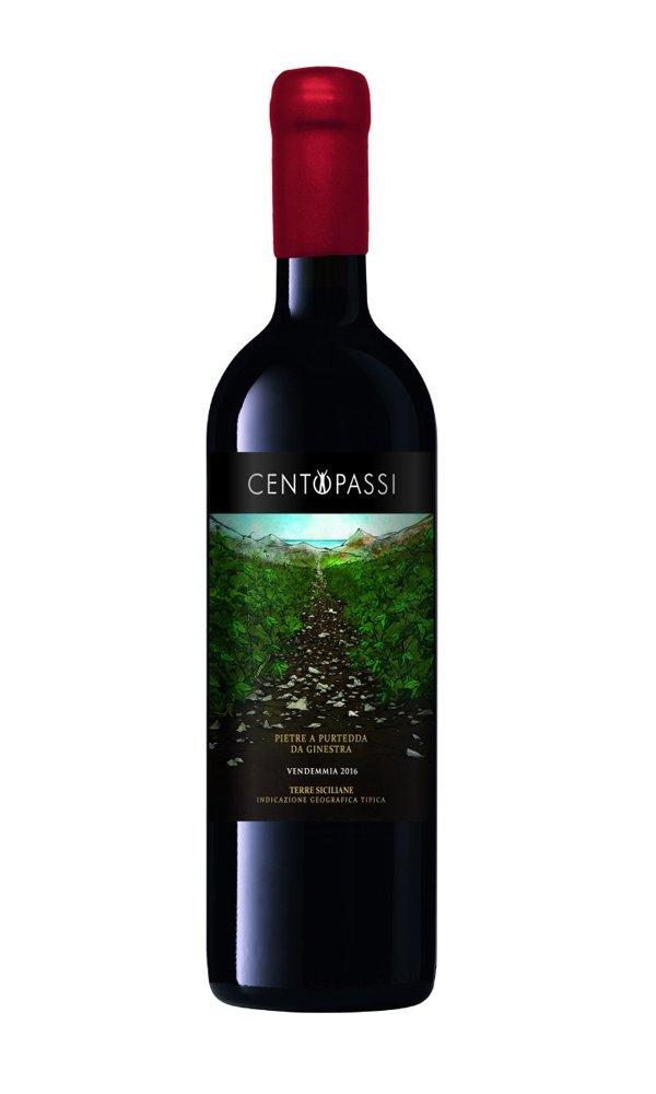 Nerello Mascalese-Nocera 'Pietre a Purtedda da Ginestra' by Centopassi (Italian Red Wine – Organic)