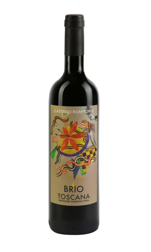 """Castello Romitorio """"Brio"""" Toscana Rosso 2019 by Castello Romitorio (Case of 3 – Italian Red Wine)"""