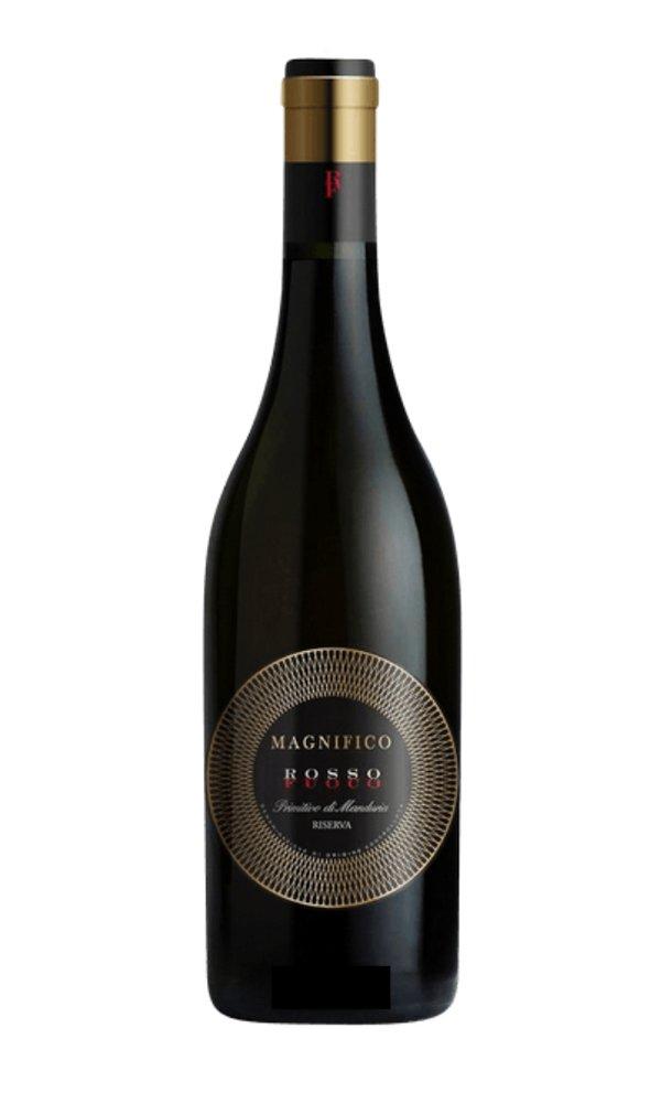 """Primitivo di Manduria """"Magnifico Rosso Fuoco"""" by Botter (Case of 6 – Italian Red Wines)"""