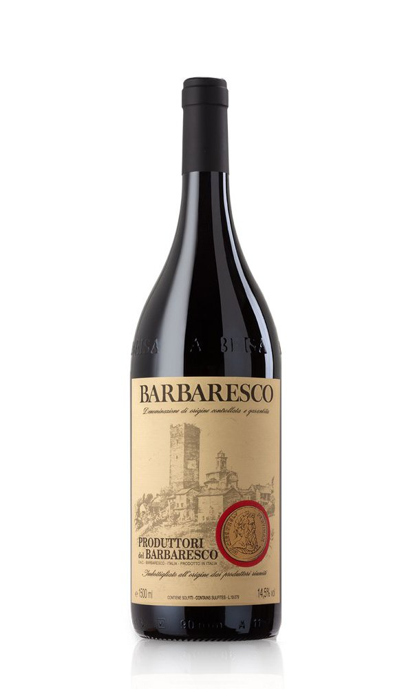 Barbaresco 2017 Magnum by Produttori del Barbaresco Gift Box (Italian Red Wine)