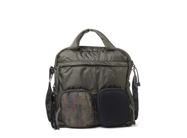 Dakota<br>Camo multi-pocket tote bag