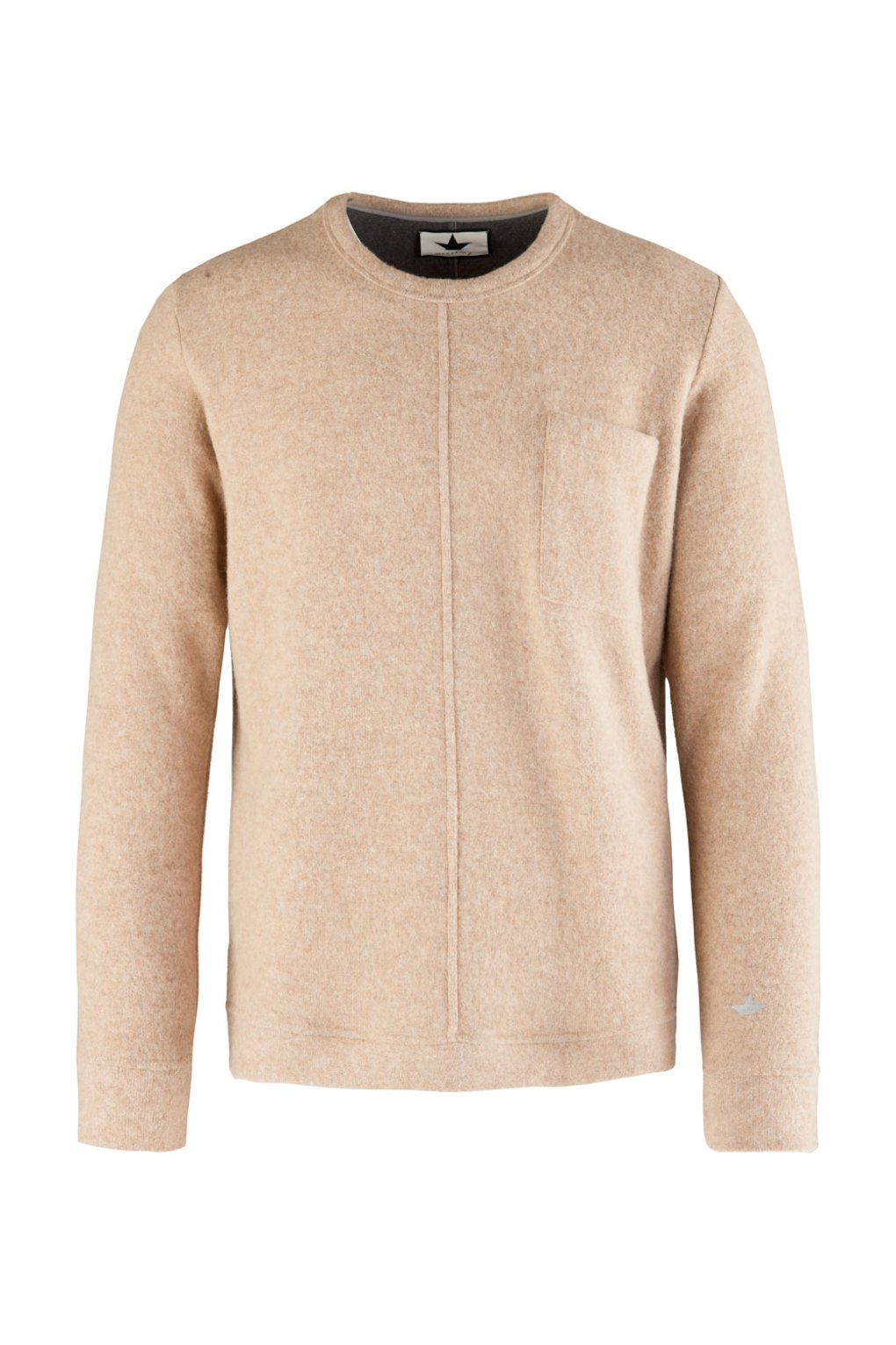 Crewneck Sweatshirt in Wool Blend