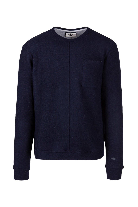 Crewneck Sweatshirt in Wool Blend