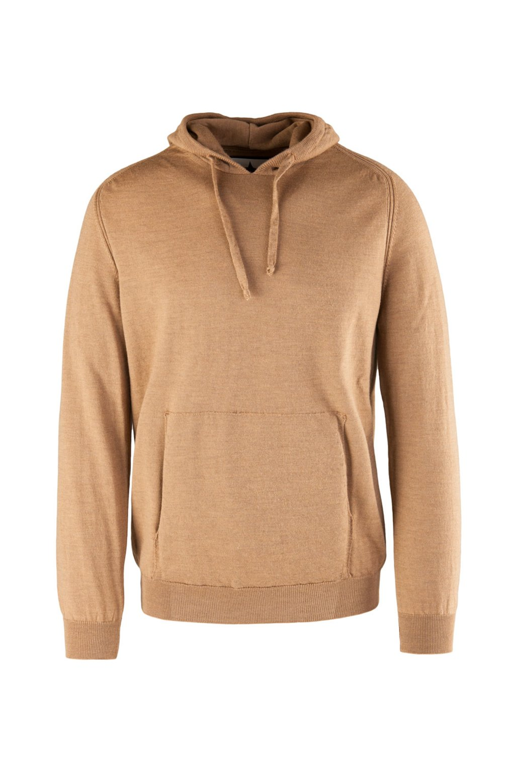 Merino Wool Hooded Sweater