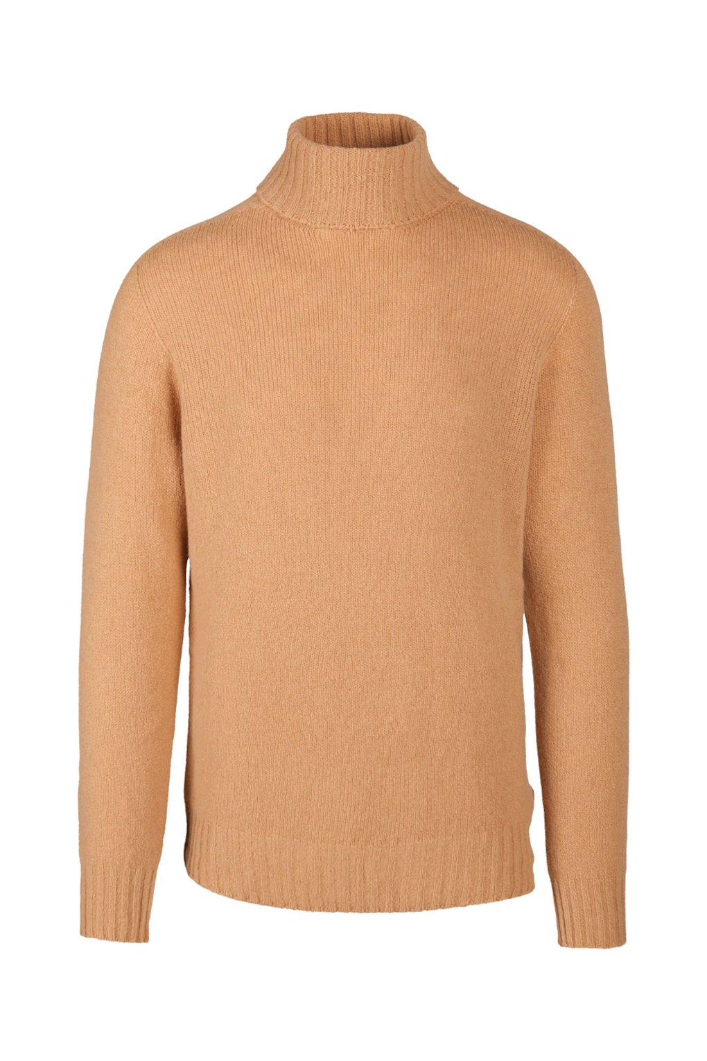 Brushed Wool Turtleneck