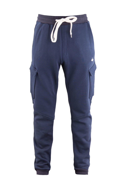 Pantalone Cargo in Felpa