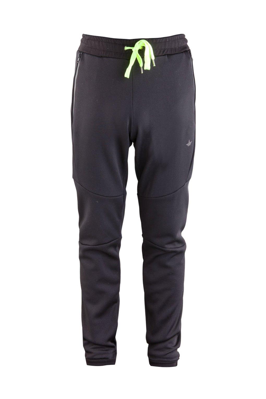 Pantalone in Felpa Tecnica Dettagli Fluo