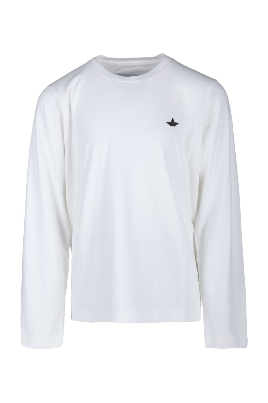 T-shirt girocollo con logo