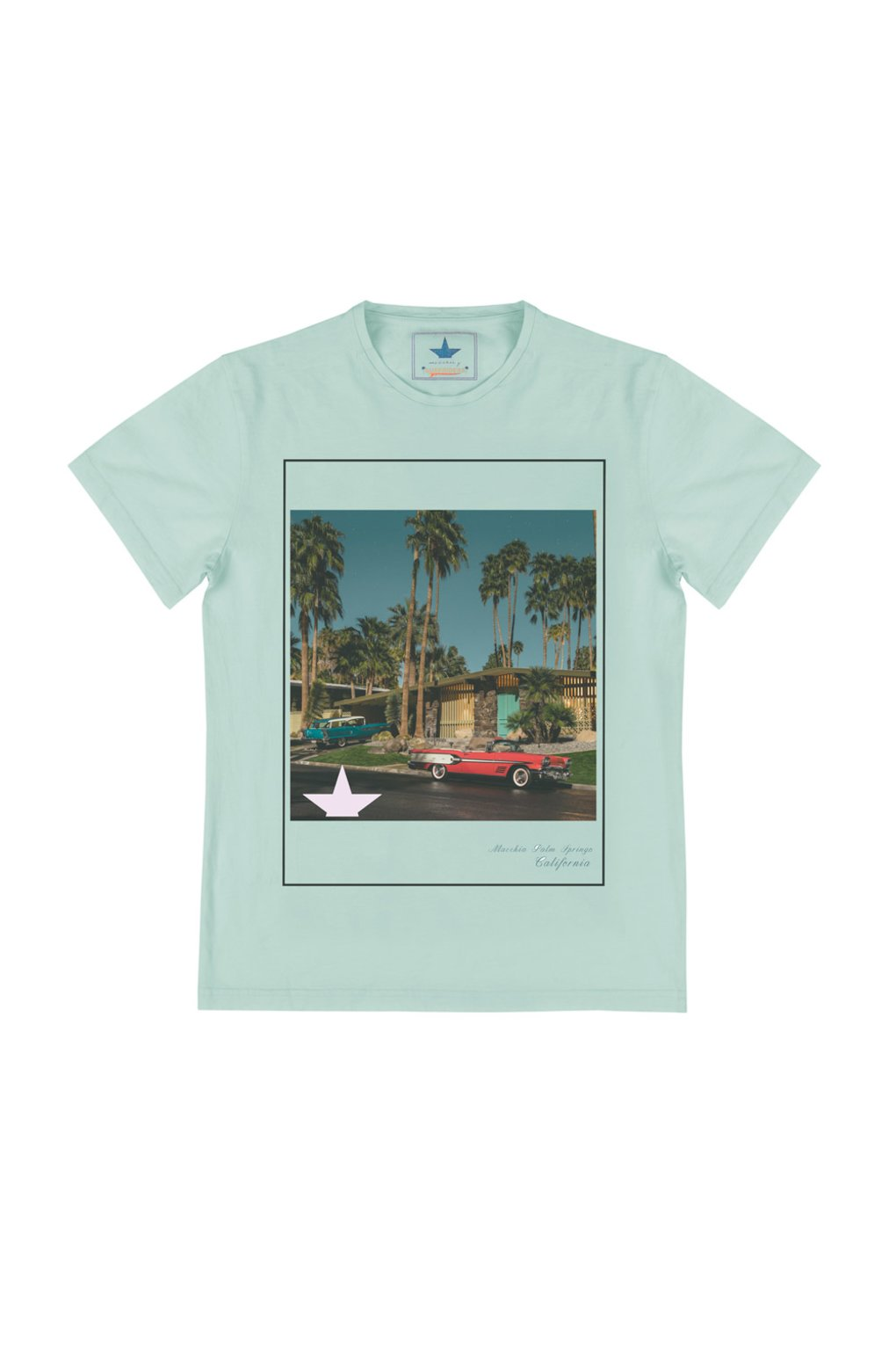 T-Shirt in cotton with photo print
