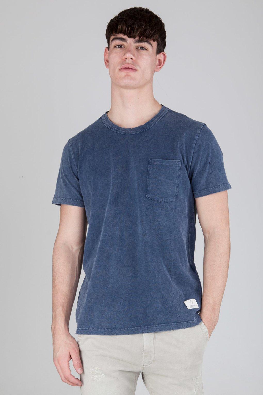 T-shirt Basica con Taschino