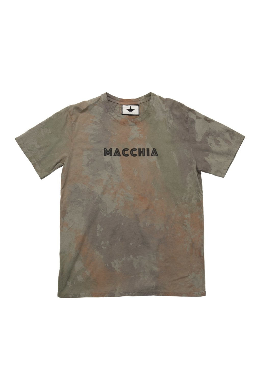 T-Shirt Logo Effetto Tie-Dye