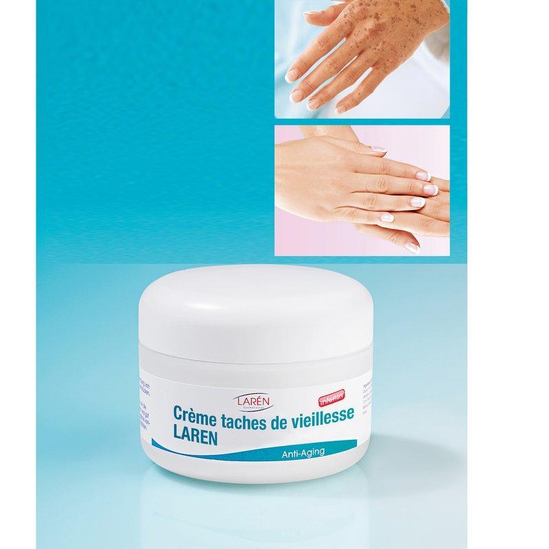 Crema antimanchas de edad clarificadora