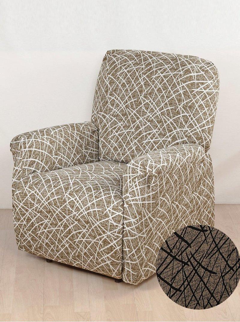 Funda protectora sillón Relax extensible 3 piezas