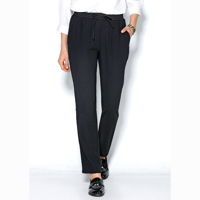 Pantalón de cinturilla elástica con cordón