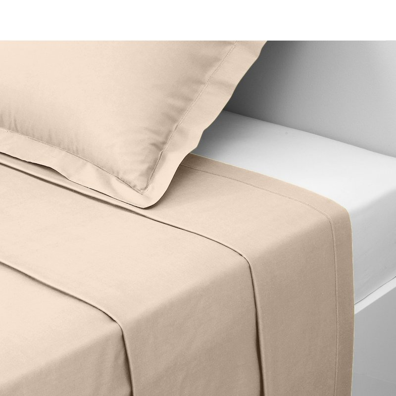Sábana encimera tejido 100% algodón lino
